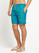 Mens Logo Swim Shorts
