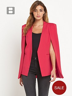 lavish-alice-collarless-cape-blazer