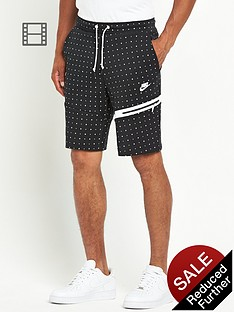 nike-tech-mens-all-over-dot-fleece-shorts