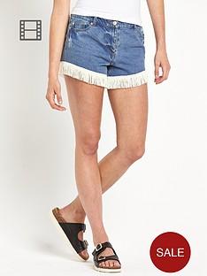 south-joni-fringe-hem-shorts