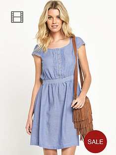 south-chambray-skater-dress-blue