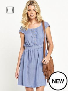 south-chambray-skater-dress