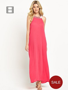 south-embellished-crinkle-maxi-dress