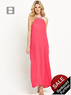 south-embellished-crinkle-maxi-dress