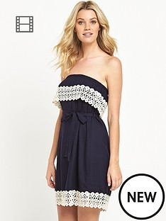 south-bandeau-crochet-trim-dress