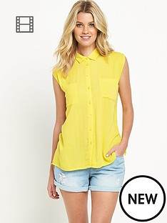 south-sleeveless-crinkle-blouse