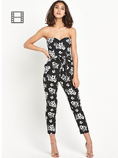miss-selfridge-floral-print-jumpsuit