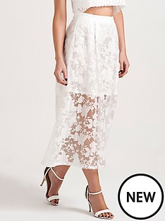 lauren-pope-sheer-layer-midi-skirt