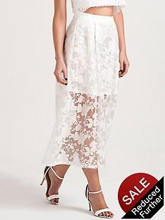 lauren-pope-sheer-layer-midi-skirt
