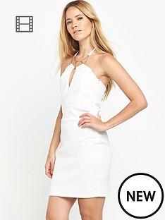 miss-selfridge-necklace-trim-bodycon-dress