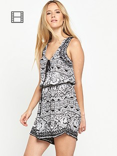 miss-selfridge-mono-crochet-playsuit