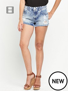 miss-selfridge-acid-distressed-hem-shorts