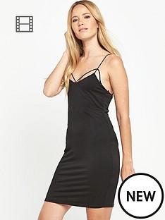 miss-selfridge-strappy-detail-dress