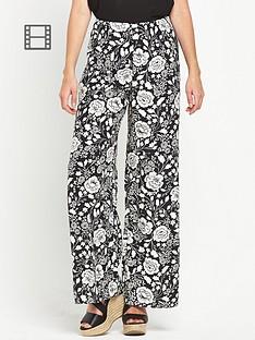 miss-selfridge-mono-floral-wide-leg-trousers