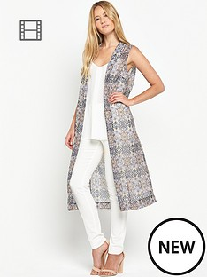 miss-selfridge-tile-print-midi-kimono
