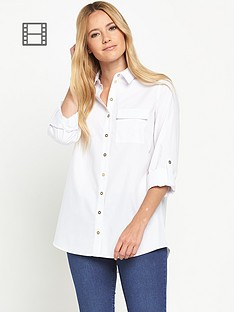 miss-selfridge-miss-selfridge-white-shirt