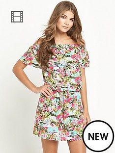 resort-tropical-print-bardot-jersey-dress