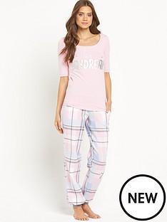 sorbet-woven-check-dont-quit-pyjama