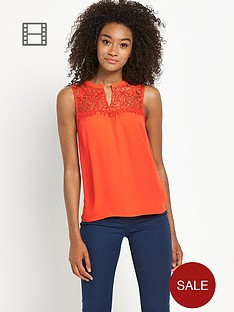definitions-lace-yoke-sleeveless-top
