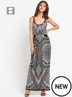 warehouse-tribal-placement-maxi-dress