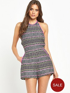 mink-pink-midnight-tribe-halter-playsuit