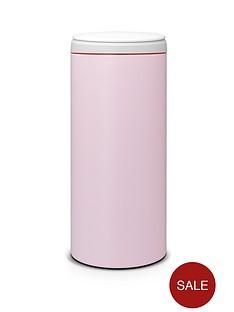 brabantia-30-litre-flip-bin-with-light-grey-plastic-lid