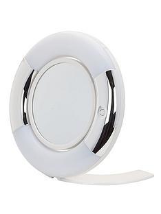danielle-creations-16cm-swivel-led-vanity-mirror-silverwhite