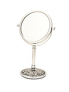 danielle-creations-185cm-crackle-base-vanity-mirror-chrome
