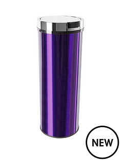 morphy-richards-round-sensor-bin-50l-plum
