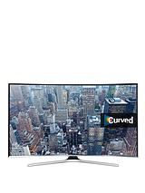UE55J6300AKXXU 55 inch Curved Full HD, Freeview, Smart TV - Black