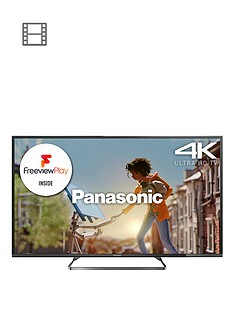 panasonic-viera-tx-50cx680b-50-inch-4k-ultra-hd-freeview-hd-led-smart-tv-with-built-in-wi-fi-black