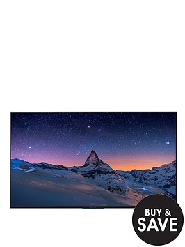 sony-kd49x8305cbu-49-inch-smart-4k-ultra-hd-freeview-hd-led-android-tv-black