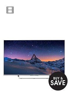 sony-kd49x8307csu-49-inch-smart-4k-ultra-hd-freeview-hd-led-android-tv-silver