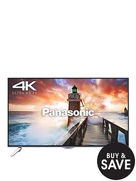 panasonic-tx-65cx410b-65-inch-freeview-hd-smart-4k-ultra-hd-3d-led-tv-black