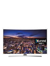 UE48JU6510UXXU 48 inch Freeview HD, Smart Curved Ultra HD TV - White