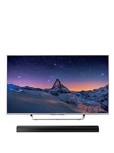 sony-kd43x8307csu-43-inch-smart-4k-uhd-freeview-hd-led-android-tv-with-ct80-bluetooth-soundbar