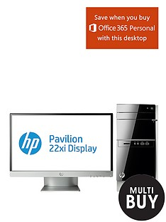 hp-pavilion-500-550nam-intelreg-coretrade-i5-processor-8gb-ram-2tb-hard-drive-gt-705-1gb-graphics-23in-monitor-desktop-bundle-with-optional-microsoft-office-365-personal-black