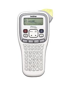 brother-pth105-hand-held-label-printer-white