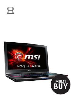 msi-ge62-2qf-apache-pro-021uk-intelreg-coretrade-i7-processor-8gb-ram-1tb-hard-drive-128gb-ssd-3gb-graphics-156-inch-laptop--black