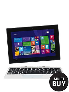 toshiba-click-mini-l9w-b-102-intelreg-atomtrade-processor-2gb-ram-32gb-solid-state-drive-storage-89-inch-full-hd-touchscreen-2-in-1-laptop-white