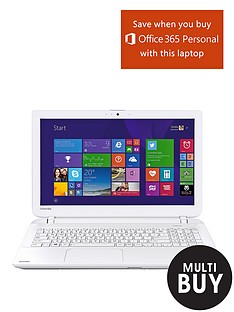 toshiba-l50d-b-amd-a6-quad-core-processor-4gb-ram-1tb-storage-156-inch-laptop-with-optional-microsoft-office-365-personal-white