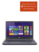 E5-571 Intel® Core® i3, 12Gb RAM, 1Tb Hard Drive Storage, 15.6 inch Laptop - Grey