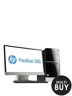 hp-pavilion-500-470nam-intelreg-coretrade-i7-processor-12gb-ram-2tb-storage-1gb-dedicated-graphics-23-inch-monitor-desktop-bundle-with-optional-microsoft-office-365