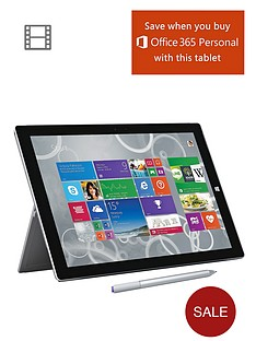 microsoft-surface-pro-3-intelreg-coretrade-i5-processor-8gb-ram-256gb-solid-state-drive-wi-fi-12-inch-tablet-and-optional-microsoft-office-personal-and-black-type-cover-grey