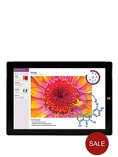 microsoft-surface-3-intelreg-atomtrade-4gb-ram-128gb-storage-wifi-108-inch-tablet-with-with-optional-type-cover-black