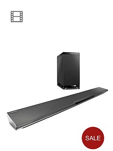 panasonic-sc-htb485-250-watt-bluetooth-nfc-soundbar-with-wireless-subwoofer