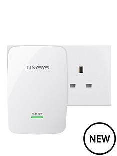linksys-re4100w-universal-dual-band-n600-pro-wi-fi-range-extender