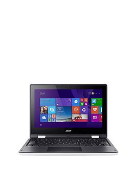 Acer R3-131T Intel® Celeron® Processor, 4Gb RAM, 500Gb Hard Drive, 11.6 inch Touchscreen 2-in-1 Laptop - Laptop only