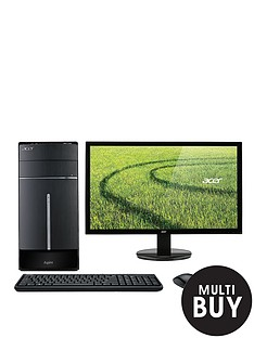 acer-aspire-tc-220-amd-a10-processor-8gb-ram-2tb-storage-amd-r7-340-2gb-dedicated-graphics-desktop-bundle-with-optional-195-or-24-inch-monitor-black