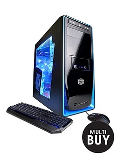 cyberpower-squadron-elite-gaming-pc-intelreg-coretrade-i3-processor-8gb-ram-2tb-hdd-storage-desktop-base-unit-nvidiareg-gt-750ti-2gb-and-optional-microsoft-office-365-personal-blackblue